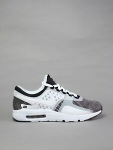 buy online 14cf4 e3512 Image is loading Nike-Air-Max-Zero-Essential-Running-Shoes-White-