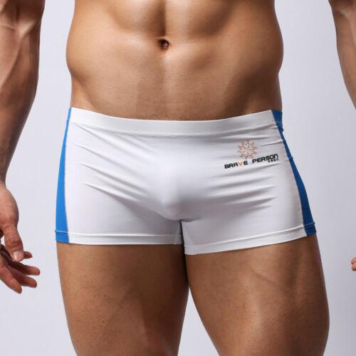 BRAVE PERSON Men/'s swimming trunks Boxer Shorts Underwear size M L