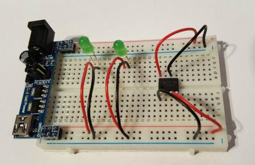 Mini jumper câbles//fils-rouge//noir 30 pack-pour BREADBOARDS-free p/&p