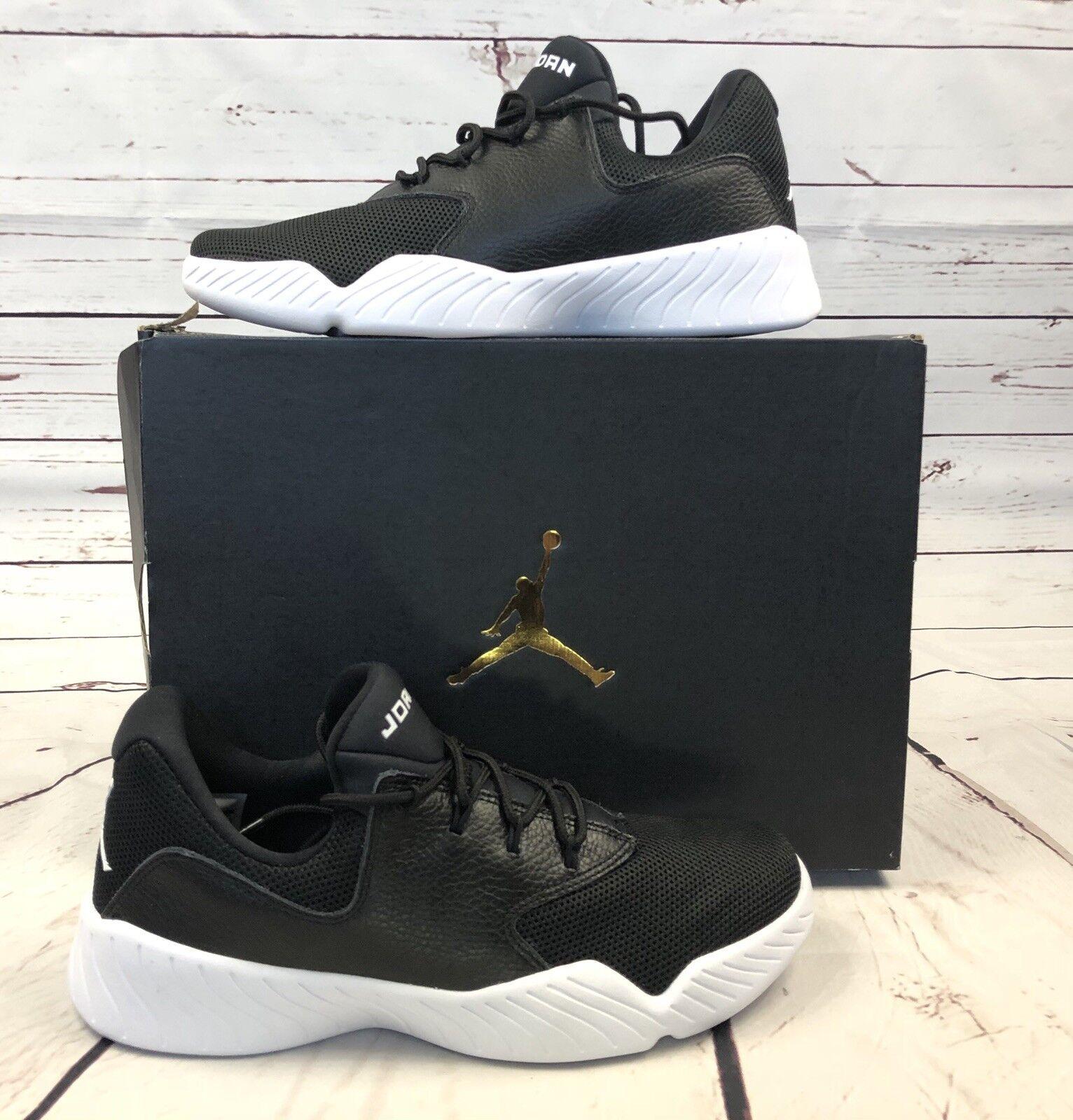 Jordan J23 Basketball Low scarpe da ginnastica nero nero nero bianca Uomo Dimensione 9.5 905288 010 New 5d9a0d