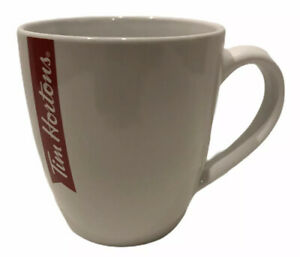 Tim-Hortons-2017-12-Oz-White-Ceramic-Coffee-Cup-Mug-Red-Banner-Canada