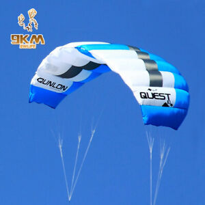 3m² Dual Line Trainer Kite 40D Ripstop Nylon Beach Kite Surfing for professional