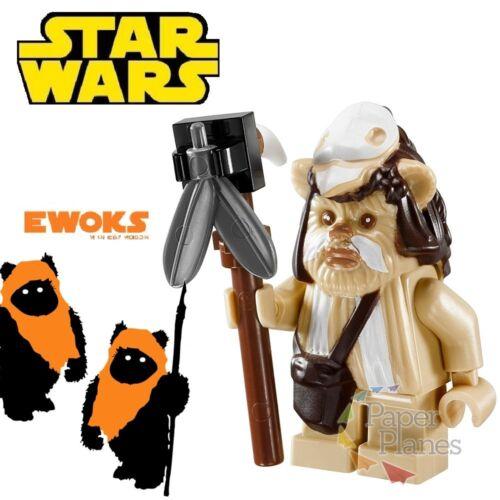 Logray Ewok Custom Minifigure MOC Lego Toy Star Wars PG739