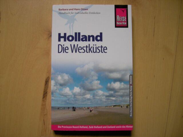 Reise Know-How Holland - Die Westküste von Hans und Barbara Otzen (2016/17, TB)