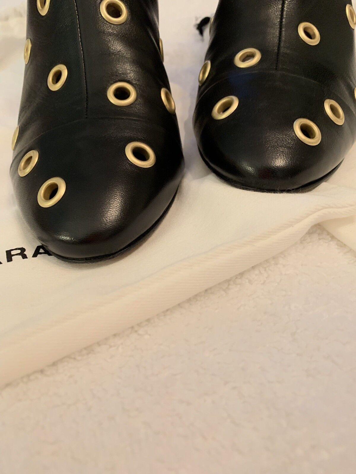 Isabel botas Marant Danay Ojal Embellecido Cuero Tobillo botas Isabel Talla 38 fd18b7