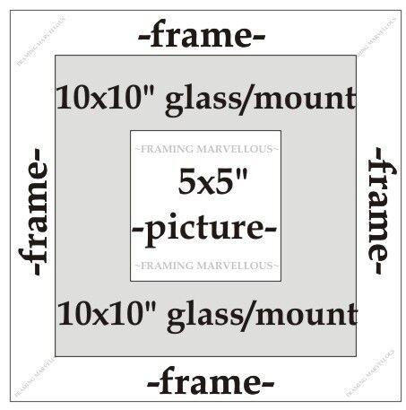 Effetto Rustico Cornice Foto Con in Legno con montaggio Avorio-dimensioni a scelta