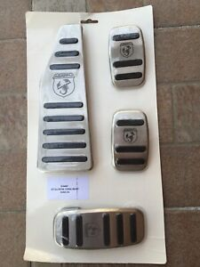 Pedaliera-Alluminio-Originale-500-Abarth-Competizione-NUOVA-595-695-Pista