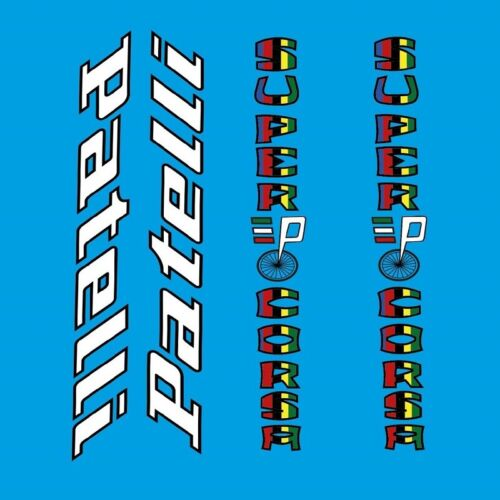 Patelli Super Corsa Bicycle Decals n.800 Stickers