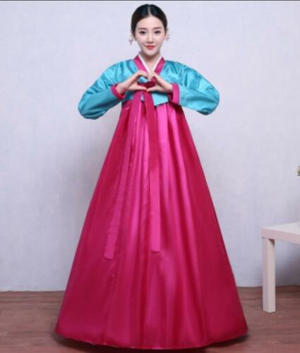 Ethnic Korean Womens Hanbok Ancient Traditional Dress National Costume Cosplay