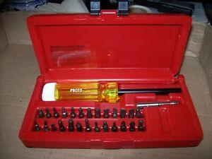 Stanley Proto J61929 28 Piece Magnetic Screwdriver Bit Set