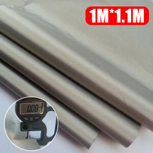 Details about EMF RF RFID Shielding Fabric Conductive Soft Grounding  Earthing DIY 1m*1 1m US