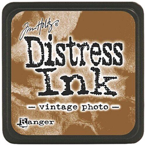 Ranger Tim Holtz Distress Ink Pads, Mini, Vintage Photo - Mini Pad Pads Pad