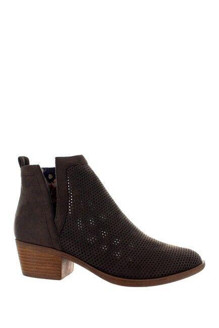 Christian Lacroix FCXL17505 Marrón Gamuza Brunela botas talla 8