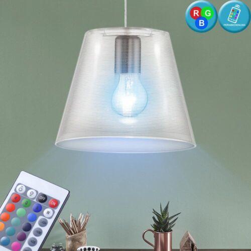 RGB LED Design Pendel Lampe Farbwechsel Küchen Hänge Leuchte 7 W Living-XXL