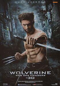 WOLVERINE-A3-Poster-42-x-28-cm-Film-Weg-des-Kriegers-Hugh-Jackman-Clippings