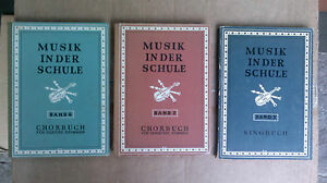 3-antike-Titel-Musik-in-der-Schule-v-Kraus-u-Oberborbeck-Singbuch-Chorbuch