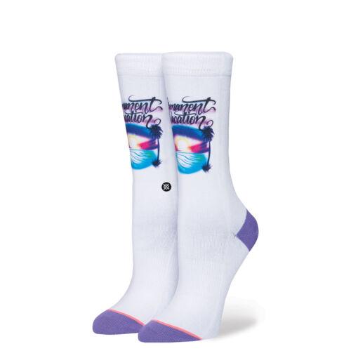 Stance Women Permanent Vacation Socks white