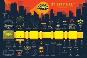 BATMAN-UTILITY-BAT-BELT-MONDO-RAMA-R2016-limited-edition-print-250-KEVIN-TONG