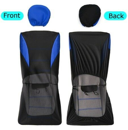 Vauxhall Corsa Vectra Astra Signum Car Seat Covers In Blue Sporty To Fit
