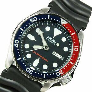 Seiko-Automatic-DIVERS-SKX009K1-Men-039-s-Watch-Worldwide-Warranty-ES-3