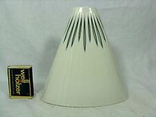 60´s Design Sgrafo Modern Porzellan Vase in seltener Form / in a rare shape