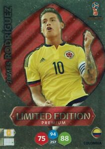 Panini-Adrenalyn-XL-World-Cup-2018-Russia-WM-Limited-Edition-James-Rodriguez