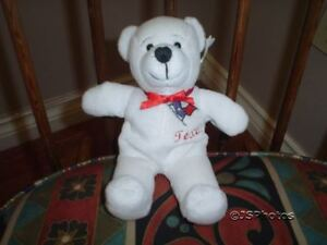 Dynamic Texas Lone Star State White Bear Symbolz 2001 A Great Variety Of Goods Bears