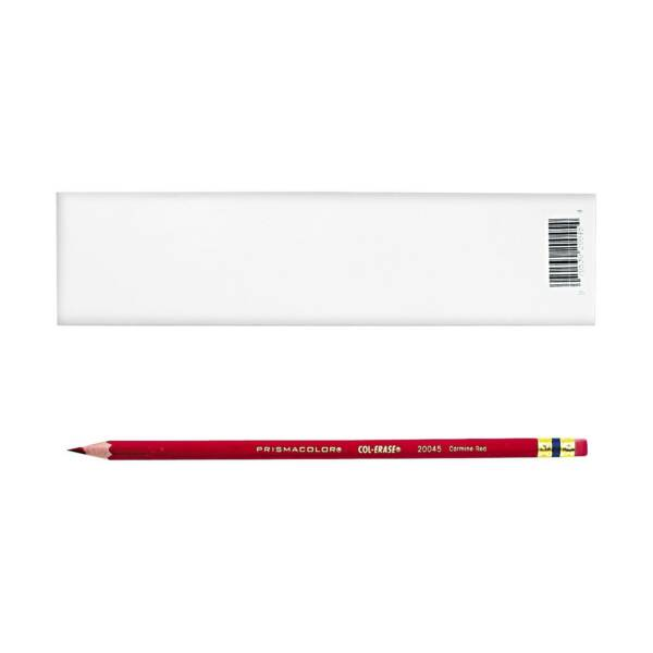 Carmine Red Prismacolor Col-erase Erasable Colored Pencil 20045-12PC