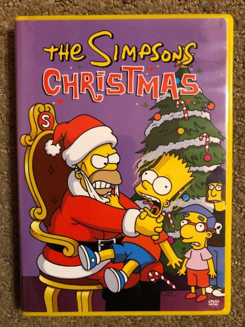 The Simpsons Christmas Episodes.The Simpsons Christmas Dvd Homer Bart Mr Plow Miracle Evergreen Terrace Episodes