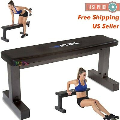 flat weight workout bench press exercise strength training
