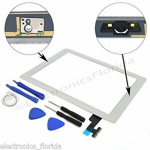 White Screen Glass Digitizer replacement for iPad 2 A1395 A1397 A1396 with tools 630125956090
