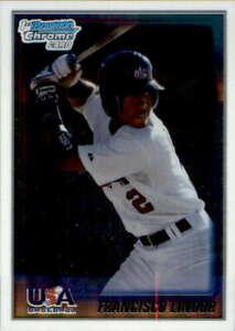 2010 Bowman Chrome #USA5 FRANCISCO LINDOR USA Stars Cleveland Indians