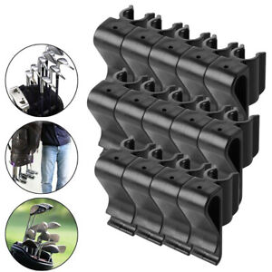 14Pcs-Golf-Bag-Clip-On-Putter-Clamp-Holder-Putting-Organizer-Club-Ball-Marker-GW