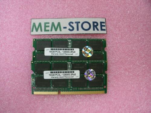 1.35V 1600MHz PC3L-12800 Dell Inspiron 3558 5548 5TH GEN 2x16GB 32GB SODIMM
