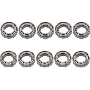 10 PCS MR84zz Mini Metal Double Shielded  Ball Bearings 4mm*8mm*3mm