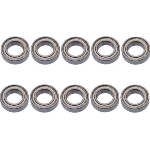 US Stock 10pcs MR148zz Mini Metal Double Shielded Ball Bearings 8mm x 14mm x 4mm
