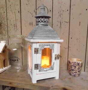 Lanterne shabby Lampe de jardin ancien style maison de campagne ...