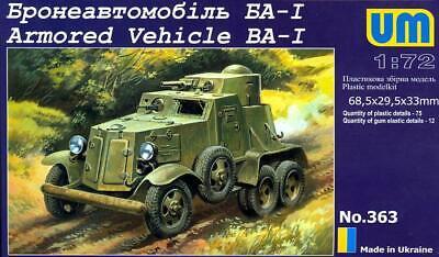 UM-MT Models 1//72 Soviet BA-3 ARMORED CAR