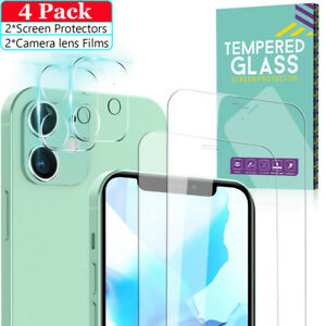 3 PCS Upgraded YODSAN for iPhone 12 Pro Max 6.7 inch Camera Lens Protector Premium HD Tempered Glass Aluminum Alloy Camera Lens Cover Glitter