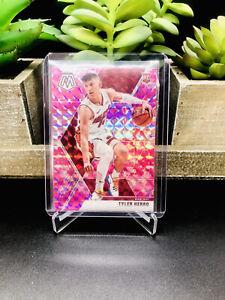 2019-20 Panini Mosaic TYLER HERRO Rookie Card RC Prizm Pink Camo #223 Miami Heat