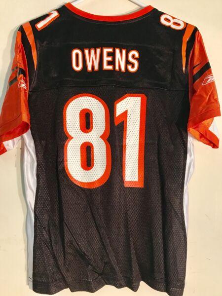 3bf197b727b Cincinnati Bengals TJ Houshmandzadeh NFL Reebok Black Jersey Women s ...