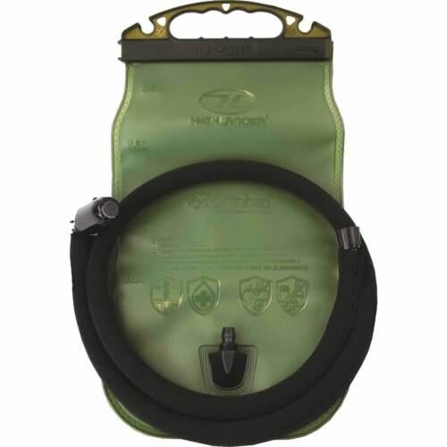 Highlander Military Hydration Water Bladder 2 Litre  Easy open Slide Off Top