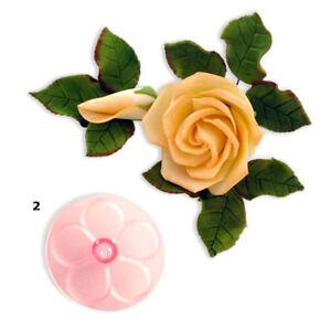 JEM-60mm-Stampi-Formine-Fiori-Pasta-Di-Zucchero-Rosa-Facile-Decorazione-Torte
