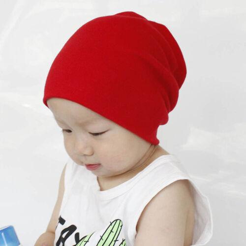 Toddler Kids Baby Boy Girl Infant Cotton Soft Hip Hop Hat Cap Beanie 24×20cm