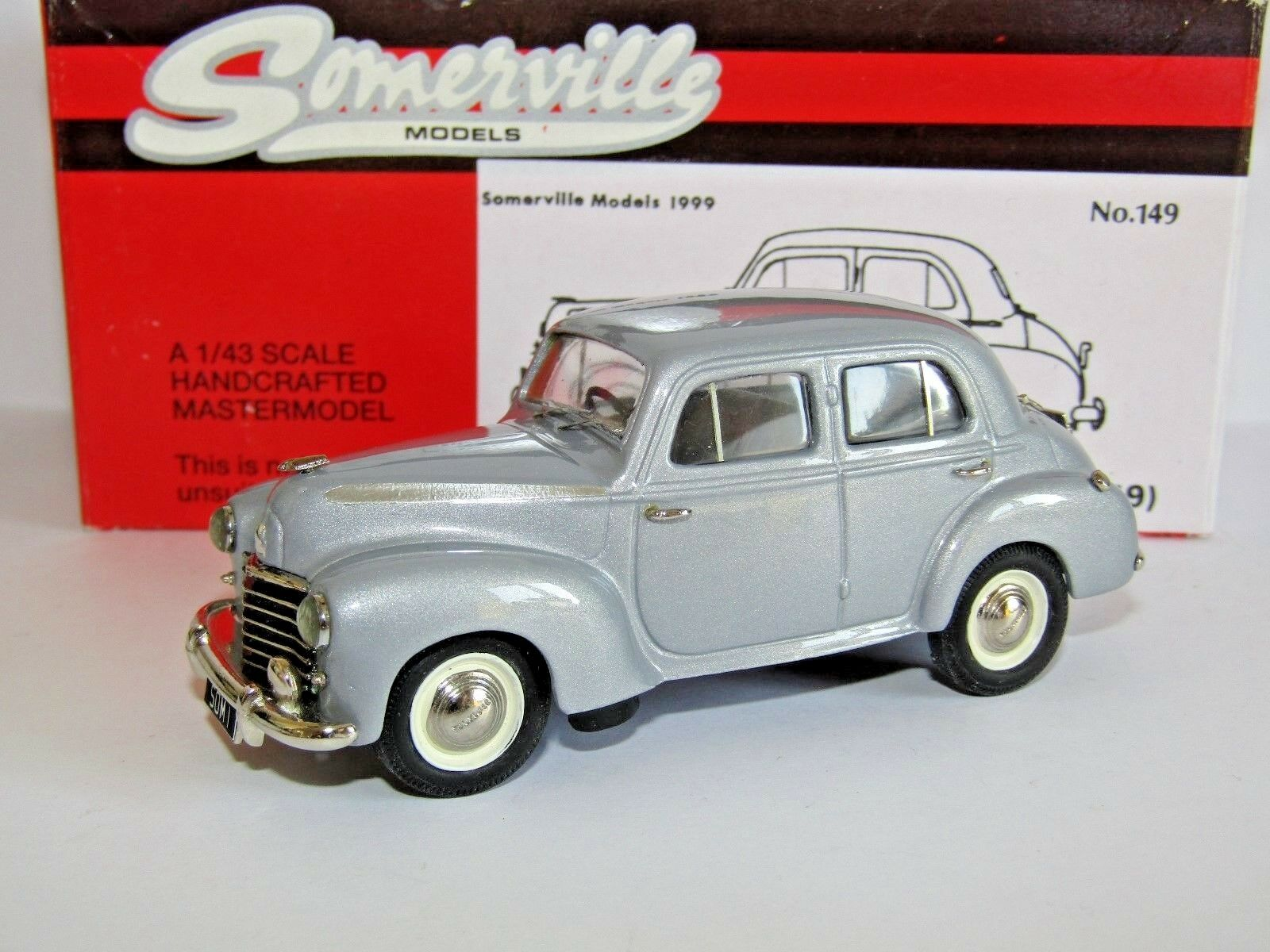 SOMERVILLE BHM VAUXHALL L-TYPE VELOX 1949 GREY 1 43 149 LIMITED EDITION OF 300