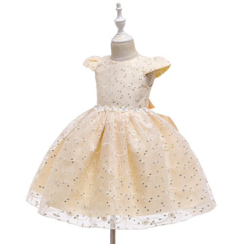 Girls Bridesmaid Dress Baby Flower Kids Party Wedding Dresses Princess Pageant