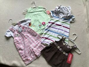 NWT-Lot-4-Precious-Baby-Girl-Outfits-6-9-mos-Gymboree-Carter-039-s-Gap-So-Cute