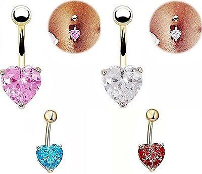 Piercing Nombril raffiné étincelante croix cristal rose blanc bijoux fantaisie