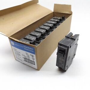 THQL1115 -/> FREE SHIPPING! NEW Case of 10 GE 15AMP  1 POLE Circuit Breaker
