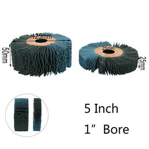 1x 240 Grits Round Abrasive Grinding Wheel Mop Metalworking Polisher Equipment